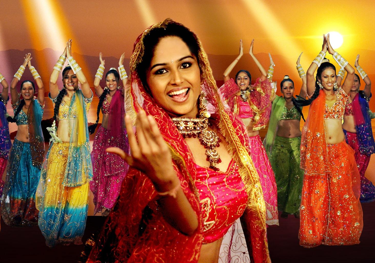 Bollywood-Dancing